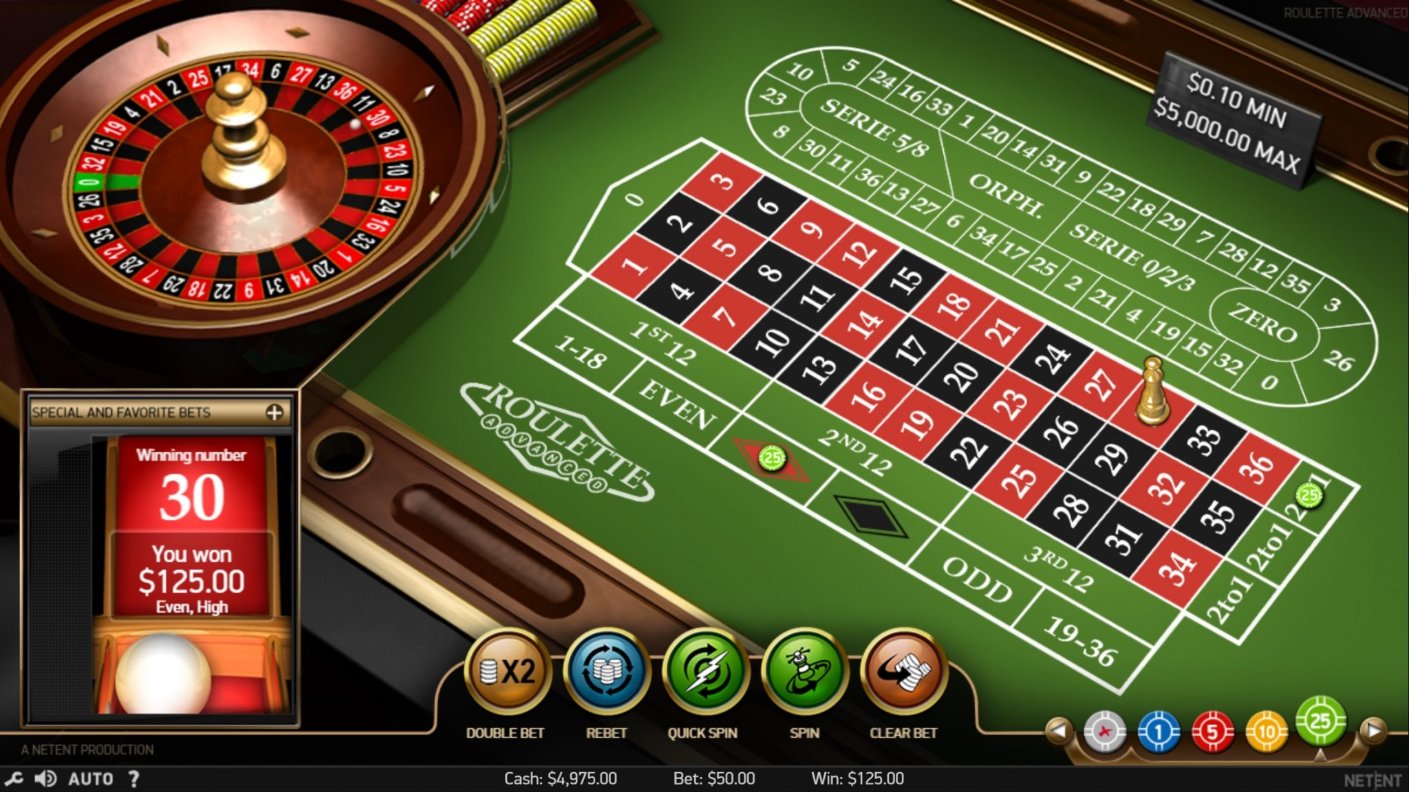 Free roulette 54540